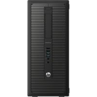 ПК HP EliteDesk 800 G1 MT i5 4590 (3.2)/4Gb/500Gb 7.2kHDG4600/DVDRW/Windows 8 Professional 64 dwnW7Pro64/GbitEth/320W/клавиатура/мышь/черный/ДА