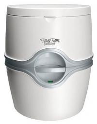 Биотуалет Thetford Porta Potti Excellence White (цвет белый, нижний бак 21л, верхний бак 15л, ручной насос, индикатор заполнения верхнего и нижнего ба