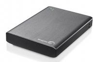 "Жесткий диск Seagate Original USB 3.0 1Tb STCK1000200 Wireless Plus 3.5"" серый Wi-Fi"
