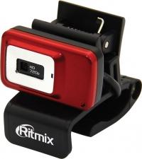 Ritmix Web-камеры Вебкамера RITMIX RVC-053M  {USB, 24 Мп,1280 x 720 , микрофон.HD 720p}