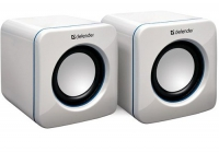 Колонки DEFENDER SPK-530 WHITE USB 2x2W, белые, USB интерфейс