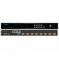 D-LINK DKVM-IP8/T1B Сетевой KVM-переключатель, 1xConsole, 8xPC, 1x10/100Mbps, 1xUSB 2.0, 1xRS-232