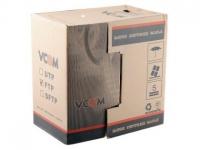 Кабель Vcom  CCA UTP кат.5е 4 пары, бухта 305м vnc1100  (Омедненный)