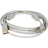 Кабель USB 2.0 PRO Am-Bm /Экран, покрытие Gold flash, 2x ферритовых фильтра 3м
