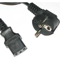 Кабель питания сист.блок-монитор Gembird/Cablexpert PC-189-VDE, 1.8м, C13-C14, VDE, 10А, черный, с заземлением