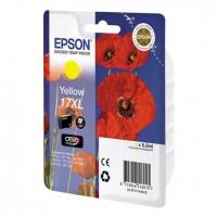 Картридж струйный Epson C13T17144A10 XL yellow для XP33/203/303 (450 стр)