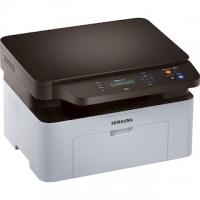 МФУ Samsung SL-M2070 лазерный принтер/сканер/копир, A4, 20 стр/мин, 1200x1200 dpi, 128 Мб, подача: 150 лист., вывод: 100 лист., USB, ЖК-панель