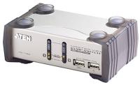 Переключатель электронный ATEN 2 Port USB2.0 KVMP Switch with OSD.