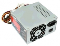 Блоки питания Fox Блок питания ATX 450W OEM FOX (80мм вентилятор/1*PCI-E/24pin/2*SATA, мощность 450W)
