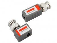 Комплект Orient NT-602 для передачи видео BNC сигнала по UTP CAT5,   ret  (602)