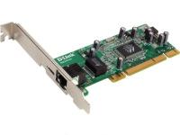 Гигабитный адаптер D-Link DGE-530T PCI 10/100/1000Mbps UTP (32бит)