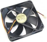 Вентилятор Gembird FANCASE3 для СБ, 120*120*25, 3pin