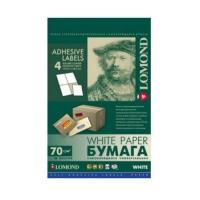 Универсальные этикетки Lomond белые/А4/64x33.4 мм/50 листов