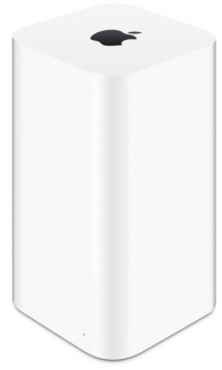Маршрутизатор  Apple AirPort ME177RU/A  WiFi три порта Gigabit Ethernet LAN / USB 2.0/ Gigabit Ethernet WAN / защита информации / HDD на  2 ТБ данных