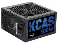 Блок питания Aerocool ATX 500W KCAS-500W 80+ bronze (24+4+4pin) APFC 120mm fan 7xSATA Cab Manag RTL