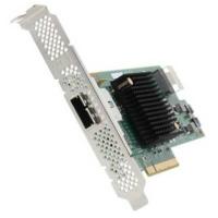 Контроллер Контроллер LSI Logic SAS 9207-4I4E SGL (LSI00303), PCI-Ex16 3.0, 8-port, 4xexternal 6Gb/s SAS+SATA ports, 4x internal 6Gb/s SAS+SATA ports