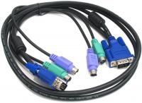 Набор кабелей D-LINK DKVM-CU Набор кабелей USBx2, VGAx1 для DKVM-xU, KVM-221