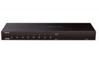 Коммутатор D-Link KVM-440 8 портов KVM стекируемый поддерживает USB и PS/2