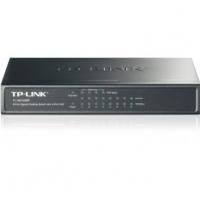 Коммутатор TP-LINK TL-SG1008P 8-Port Gigabit Desktop PoE Switch, 8 Gigabit RJ45 ports including 4 PoE ports, steel case