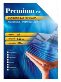 Обложки для переплёта Fellowes Transparent (FS-5376102) прозрачные пластиковые А4 0.20 мм 100 шт