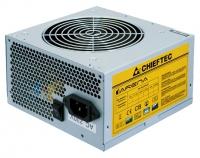 Блок питания  Chieftec 450W OEM GPA-450S8 v.2.3, КПД > 80%, A.PFC, 1x PCI-E (6+2-Pin), 3x SATA, 2x MOLEX, Fan 12cm