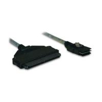 Кабель данных  SAS LSI Cable CBL-SFF8087SB-08M Mini-SAS (SFF-8087) to Mini-SAS (SFF-8087)