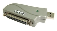 Контроллер STLab ( U-370 ) (RTL) Адаптер LPT25F - ) USB AM