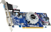 Видеокарта GIGABYTE PCI-E ATI GV-R523D3-1GL Radeon R5 230 1024 1024Mb 64bit DDR3 625/1066 DVI/HDMI/CRT/HDCP RTL