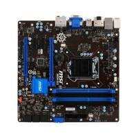 Материнская плата MSI B85M-G43 Soc-1150 Intel B85 4xDDR3 mATX AC`97 8ch(7.1) GbLAN+VGA+DVI+HDMI+DP