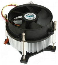 CPU Fan CP6-9HDSA-0L-GP <retail, для LGA1150/1150/1155/1156, потребляемая мощность 1,8 Вт, 3 пин, TDP 95-105 Вт, с медью, винты, вентилятор 95x95x25 мм, 2200 об/мин, 23.8 dBA, rifle bearing, 43 CFM>