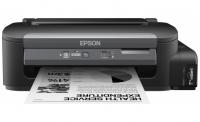 Принтер Epson M100, монохромный струйный, A4, 34 стр/мин ч/б, 1440x720 dpi, подача: 100 лист., вывод: 50 лист., Ethernet, USB
