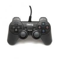 Геймпад Dialog Action GP-A11 Black, вибрация, 12 кнопок, USB