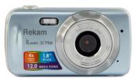 "Фотоаппарат Rekam iLook S750i серый 12Mpix 1.8"" SD CMOS/AAA"