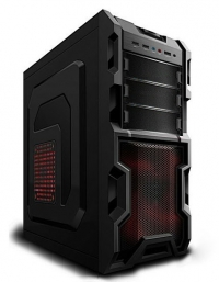 Корпус 3Cott 1816 ATX, без БП, USB 2.0, 2х 12см, черный.