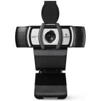 Камера Web Logitech HD Webcam C930e черный 3Mpix (1920x1080) USB3.0 с микрофоном для ноутбука