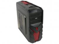 """Корпус 3Cott 3C-ATX129G """"Ninja"""" для игрового компьютера, ATX, блок питания 700 Вт 80+ PFC, выходы USB 2.0x2, HD Audio, размер 390*195*405 мм"""