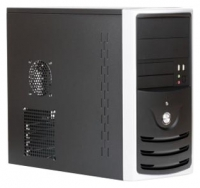 Корпус 3Cott 5001 mATX, 450Вт, USB, Audio, черный.