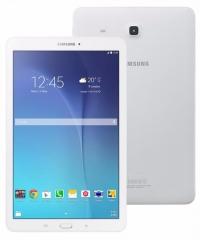 "Планшет Samsung Galaxy Tab E SM-T561 (1.3) 4C/RAM1.5Gb/ROM8Gb 9.6"" TFT 1280x800/3G/Android 4.4/белый/5Mpix/2Mpix/GPS/WiFi/Touch/microSDXC 128Gb/minUSB/5000mAh"