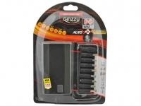 Универсальный адаптер питания для ноутбуков GiNZZU® GA-4390UL (avto, 90W, LCD, 1xUSB, 12V-24V, 9 DC-IN)