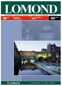 Бумага Lomond 0102012 A3/170г/м2/100л. матовая для струйной печати 720/1440dpi