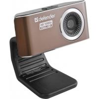 Веб-камера Defender G-lens 2693 FullHD/сенс 2МП/обз.56°/микр./USB 2.0/фикс фокус/унив. крепл./линза 5-т сл./HDвидео