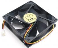 Вентилятор Вентилятор для корпуса 80x80x25mm, sleeve, узкий разъем 3pin FANCASE