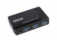 Контроллер USB 3.0/2.0 HUB ST-Lab U-770, 7 Ports (3xUSB 3.0 + 4xUSB 2.0), Black, P/a, Ret