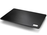 """Теплоотводящая подставка под ноутбук DEEPCOOL N1 Black (до 15,6"""", cупертонкий 2,6см, 180мм вентилятор)"""