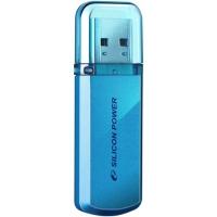 Флеш Диск Silicon Power 4Gb Helios 101 SP004GBUF2101V1B USB2.0 синий