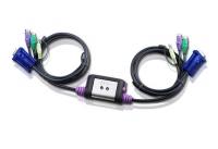 Переключатель электронный ATEN 2 PORT KVM Switch with Audio.