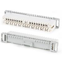 Розетки Hyperline KR-PLP-10-BRK-0 Плинт размыкаемый на 10 пар (аналог Krone), для крепления на штанге, маркировка 0-9