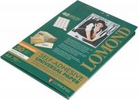 Универсальные этикетки Lomond белые/А4/38*21,2/50листов/пачка