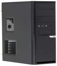 Корпус 3Cott 2302 ATX, 450Вт, USB, Audio, черный.
