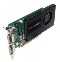 Профессиональная видеокарта 2Gb <PCI-E> PNY nVidia Quadro K2000D <GDDR5, 128 bit, 2*DVI, mini DP, OEM>